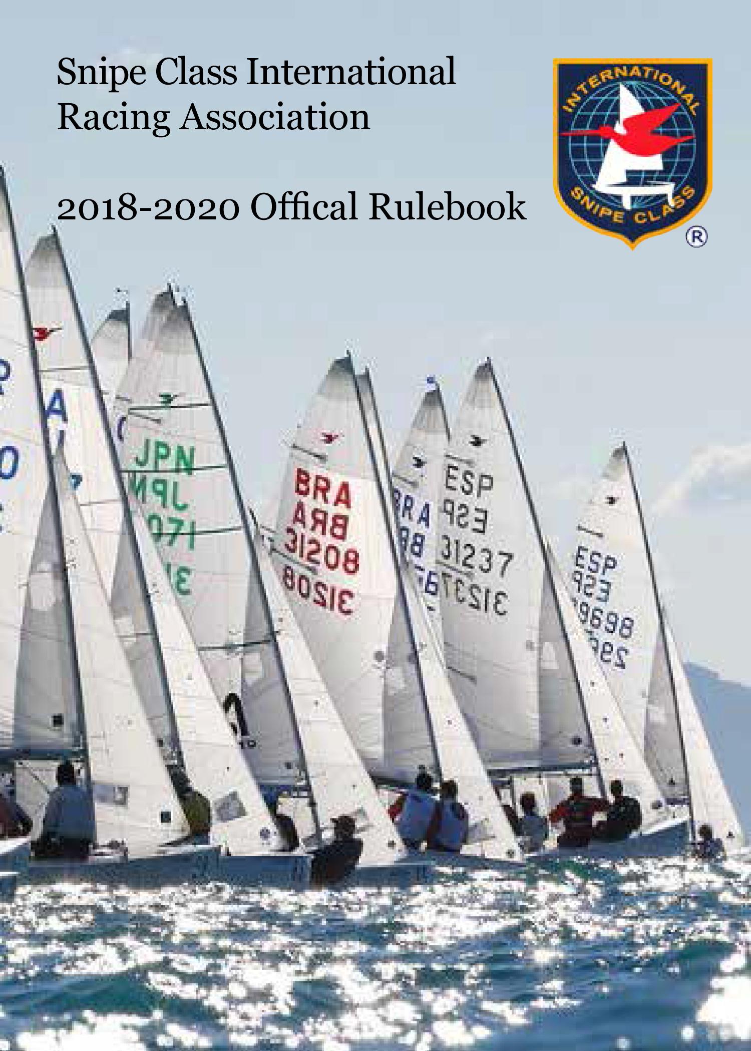 2018 2020SnipeRulebookDIGITAL Cover1
