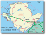Snipe Island Challenge route/map